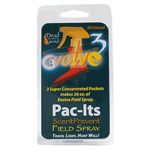 Dead Down Wind Pac-It Field Spray (3 Pack) Multi-Colored