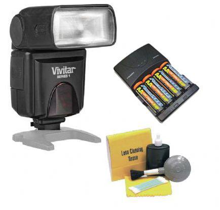 Nikon Flash (i-TTL) Bounce, Zoom, Swivel Head. (Alternati...