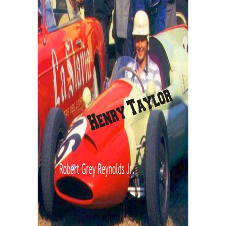 Henry Taylor British Formula One and Rally Racer -