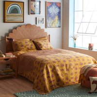 Jungle Leopard Quilt Set by Drew Barrymore Flower Home