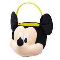 Disney Mickey Mouse Jumbo Plush Halloween Basket