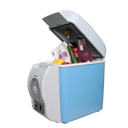 12V 7.5L Capacity Portable Car Refrigerator Cooler Warmer Truck Thermoelectric Electric Fridge (Tool Fridge)