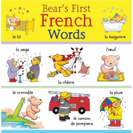 Bear's First French Words (First Start French Ii)