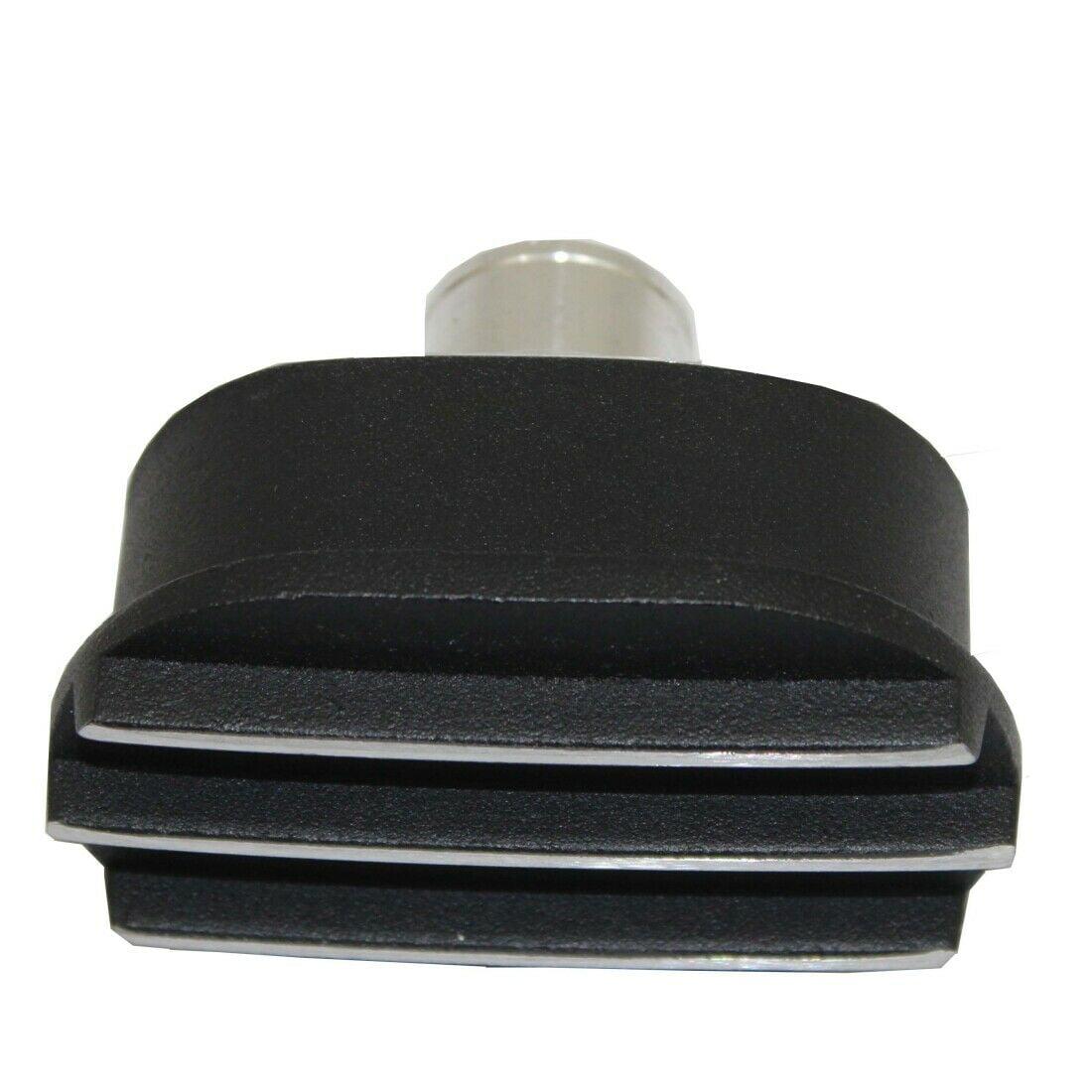 Black Finned Oval Polished Aluminum Valve Cover Breather /& PCV Valve Combo SBC
