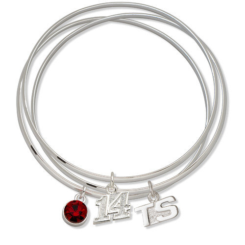 LogoArt NASCAR Driver Triple Bangle Bracelet