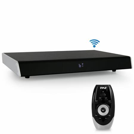 Digital Sounder Module - PYLE PSBV830HDBT - Bluetooth HD Tabletop TV Sound Base Soundbar Digital Speaker System, with HDMI Connection