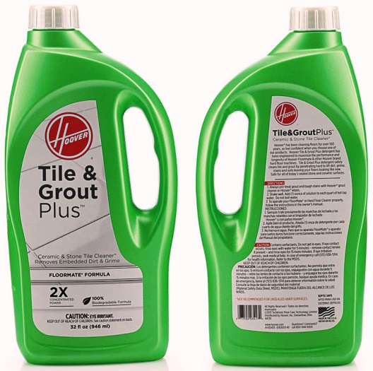 ONE Hoover 32 OZ Cleaner-Floormate Tile&Grout Plus 2X, Part AH30435, Qty-1