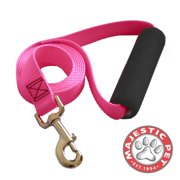 "Majestic Pet Products Easy Grip Handle Leash, 1"" x 6`, Pink"