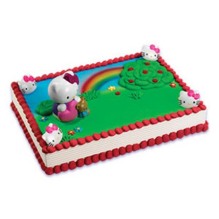 Hello Kitty Bubble Blower Cake Topper