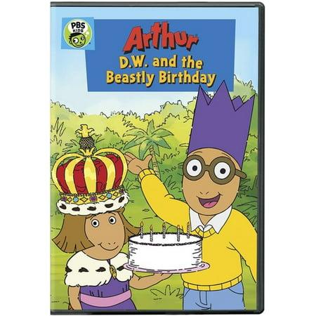 ARTHUR:DW AND THE BEASTLY BIRTHDAY - Dw Arthur Halloween