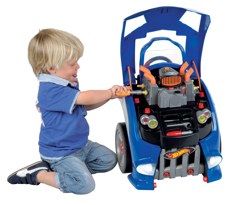 Theo Klein Hot Wheels Interactive Service Car Station Engine Playset by Theo klein