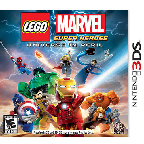 Lego Marvel Super Heroes: Universe in Peril (Nintendo 3DS) - Pre-Owned