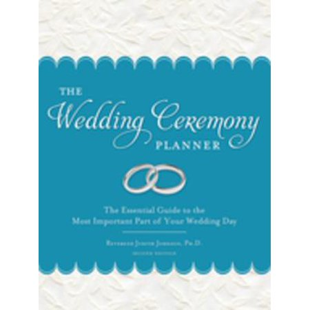 (Wedding Ceremony Planner - eBook)
