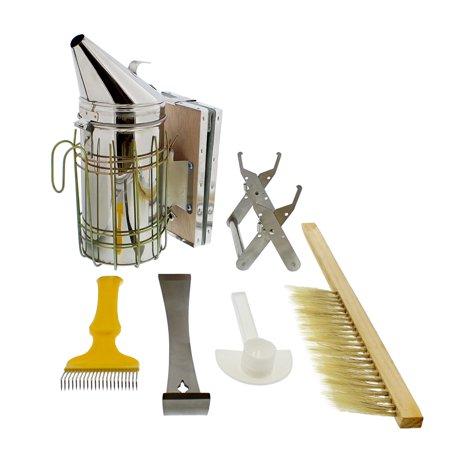 Rural365 | Beekeeping Starter Kit Beekeeping Supplies Bee Smoker 6-Piece Set