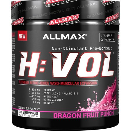 Image of AllMax Nutrition - HVOL Hemanovol Ultra Concentrated Dragon Fruit Punch - 10.1 oz.