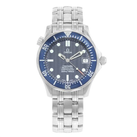 Omega Seamaster Midsize 2551.80.00 Steel Automatic Unisex Watch (Pre-owned)