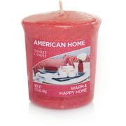 American Home by Yankee Candle Votive, Warm & Happy Home