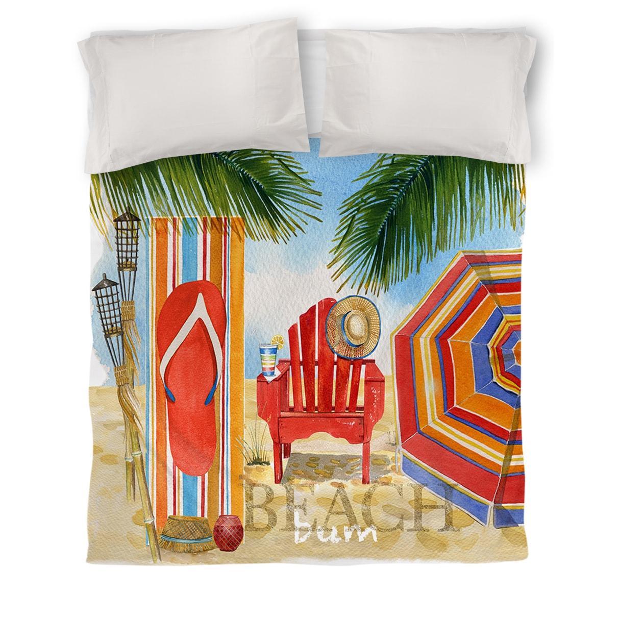 IDG Beach Medley Duvet Cover