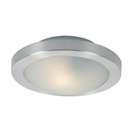 ET2 Piccolo E53831 1-Light LED Flush/Wall Mount Satin Nickel