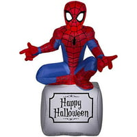 "Gemmy 220538 Marvel Halloween Inflatable Spiderman, 42.13"" H"