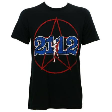 Rush Men's 2112 Tour T-Shirt (Fraternity Rush Shirt)