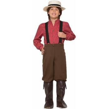 CHCO - PIONEER BOY - SMALL - Pioneer Boy Costume