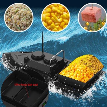 Domqga Fishing Bait Boat, Fish Bait Boat, 500M Wireless Remote Control Ship Speedboat Fish Finder Fishing Bait Boat EU Plug 100-240V - image 4 of 8