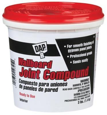 QT 3 Pound Ready-To-Use Wallboard Joint Compound 2PK
