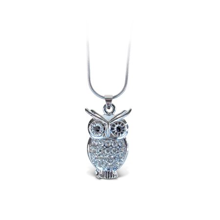 Owl Jewelry (Sparkling Necklace - Owl)