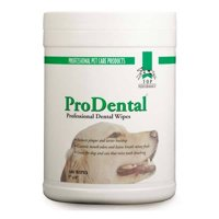 Dog Dental Wipes Professional Grooming Pet Breath Oral Health 160 Ct Cannister