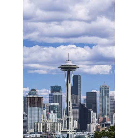 seattle skyline print wall art by rob tilley walmart com