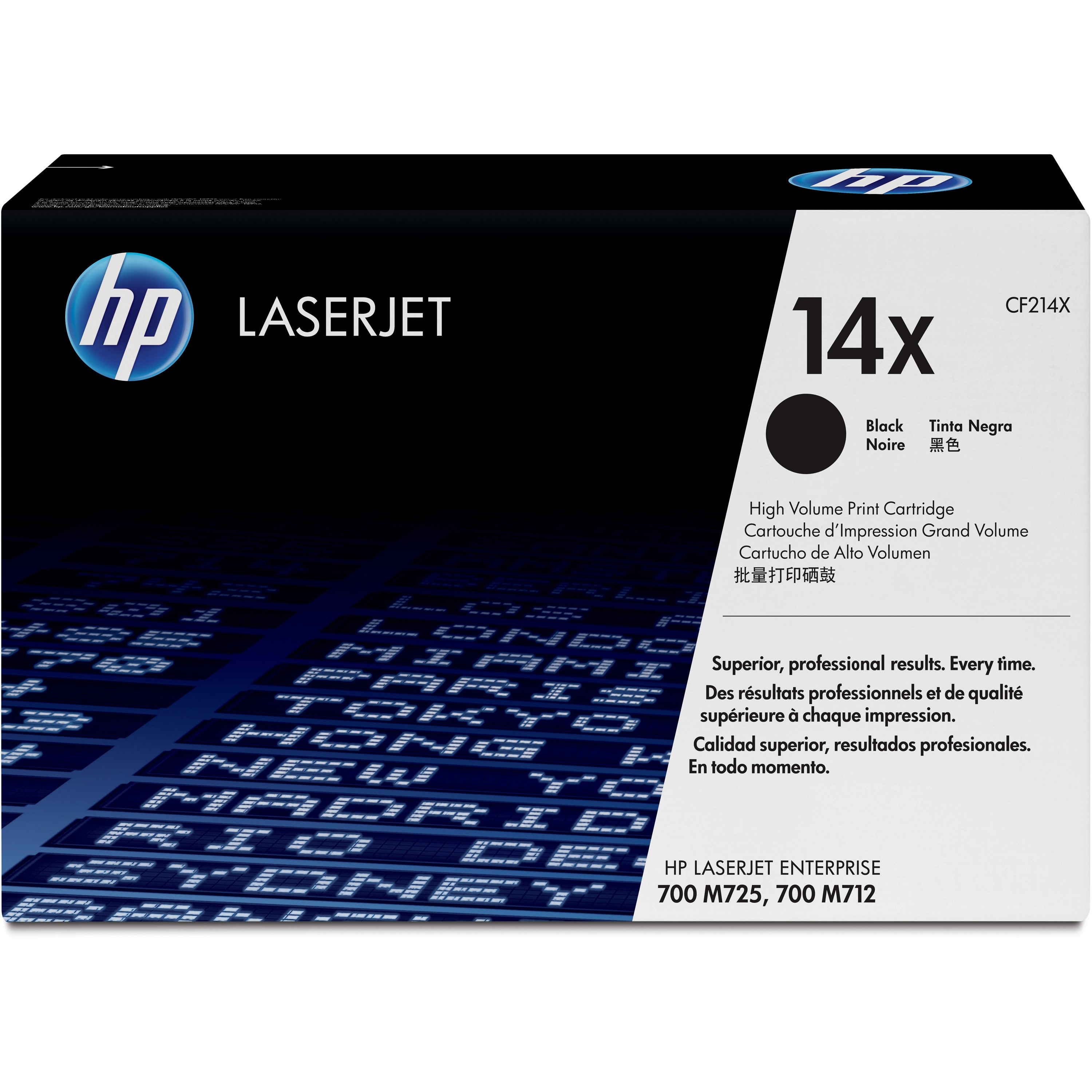 HP 14X (CF214X) Black High Yield Original LJ Toner Cartridge