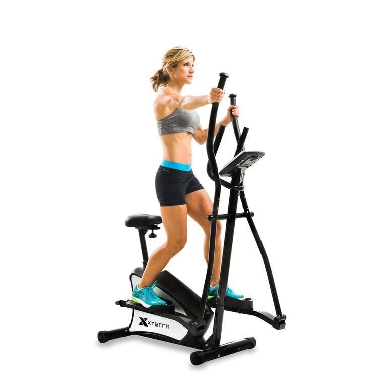 XTERRA Fitness EU150 2-in-1 Hybrid Elliptical Upright Bike
