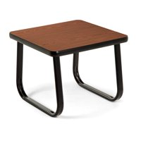 """OFM Model TABLE2020 20"""" End Table with Sled Base, Cherry"""