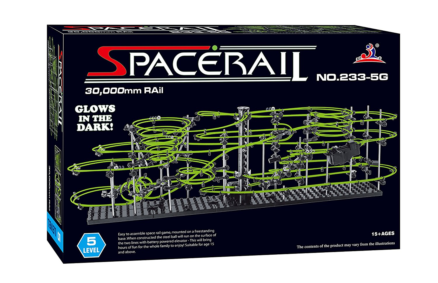 Space Rails 30,000mm Rail Level 5 by West toy