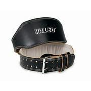 Valeo VRL Padded Leather Lifting Belt 6-inch, Medium