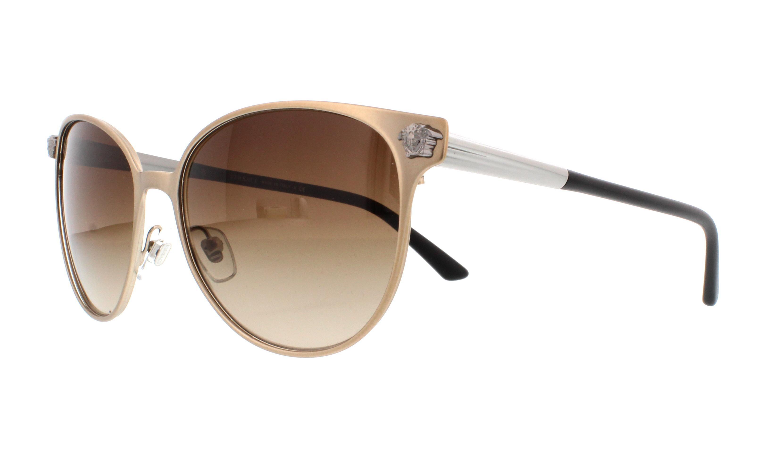 f0575da552ab Versace - VERSACE Sunglasses VE 2168 137513 Matte Copper 57MM - Walmart.com