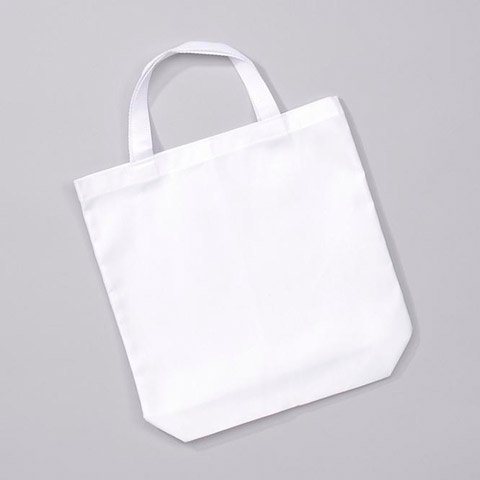 Darice Poly Cotton Tote With Web Handles White 14 X 16 Inches