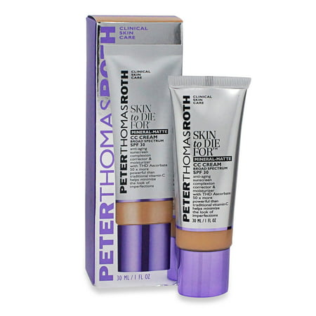 Peter Thomas Roth Skin To Die for Mineral Skin Perfecting Cc Cream Medium 1 (Best Cc For Balance Transfers)