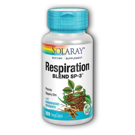 Solaray Respiration Blend SP-3 100 Capsules