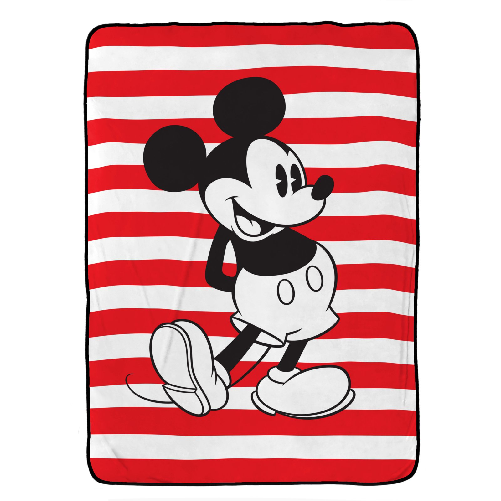 Disney Mickey Mouse Jersey Classic Twin Blanket by Disney