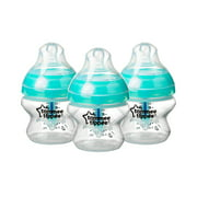 Tommee Tippee Advanced Anti-Colic Baby Bottles – 5oz, Clear, 3pk
