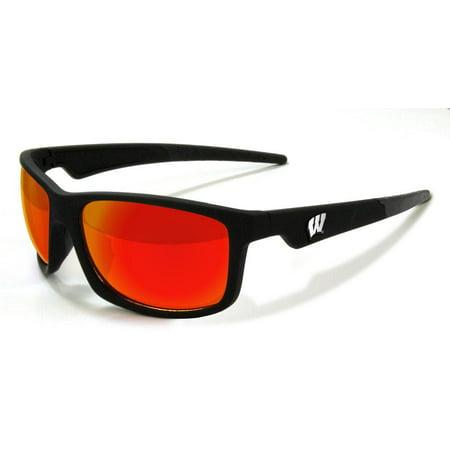 c019b3a8bd74 Maxx - Maxx Sunglasses University of Wisconsin Retro 2.0 Sports Sunglasses  - Walmart.com