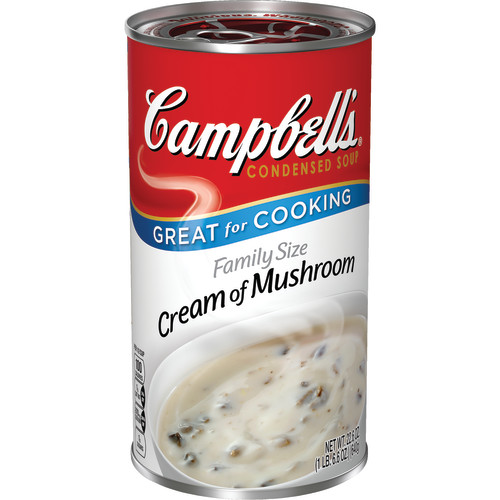 Campbell's Condensed Family Size Cream of Mushroom Soup, 22.6 oz.