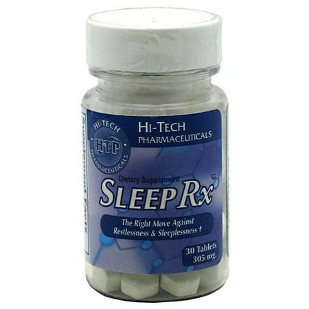 Hi Tech Pharmaceuticals Hi Tech  Sleep Rx, 30 ea