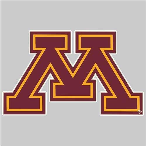 Minnesota Golden Gophers Die-Cut Transfer Decal