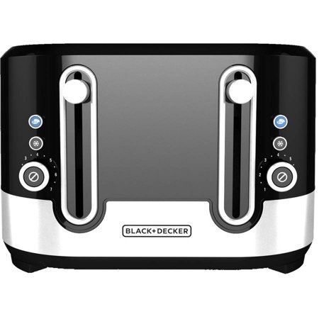 BLACK+DECKER 4-Slice Toaster, Designer Series, TR4200SBD