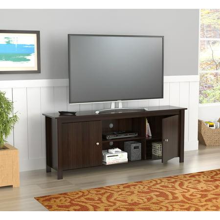 Inval Contemporary Espresso 60-inch TV Stand ()