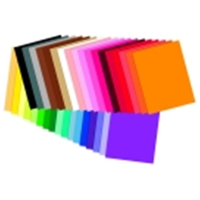 Tru-Ray Acid-Free Non-Toxic Construction Paper Classroom Pack - 76 Lbs. - Pack 2000