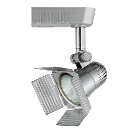 Cal LightingHT-972-BS 120V, 50W, MR-16, Track Head, Brushed Steel